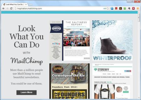 MailChimp Inspiration
