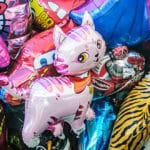 Photo of balloons for a birthday celebration